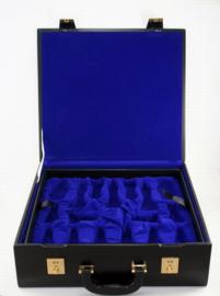 Lederen schaakcassette