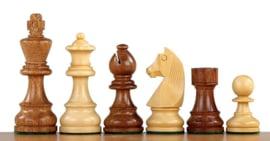 Klassiek staunton palisander schaakstukken 96 mm
