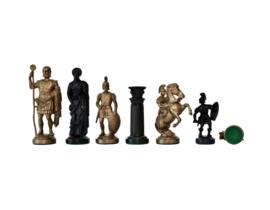 Kunststof schaakstukken Rome 96