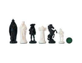 Kunststof schaakstukken Middeleeuwen 96