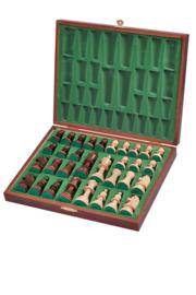 Staunton 5 in luxe houten schaakdoos