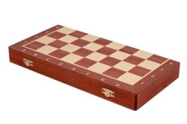 Staunton 5 in luxe doos uitklapbaar tot schaakbord