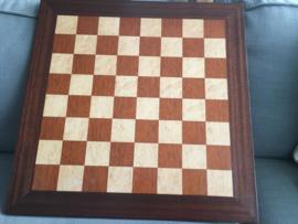 Handgemaakt schaakbord