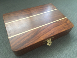 Uitklapbaar magnetisch Backgammonspel