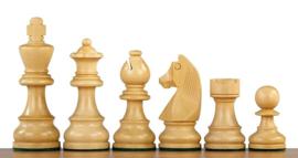 Klassiek staunton palisander schaakstukken 80 mm