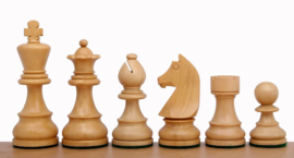 Klassiek staunton schaakstukken zwart 96 mm