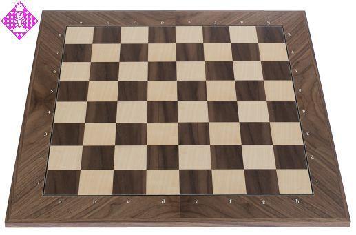 Schaakbord Munster Diagonaal 55 met cijfers en letters