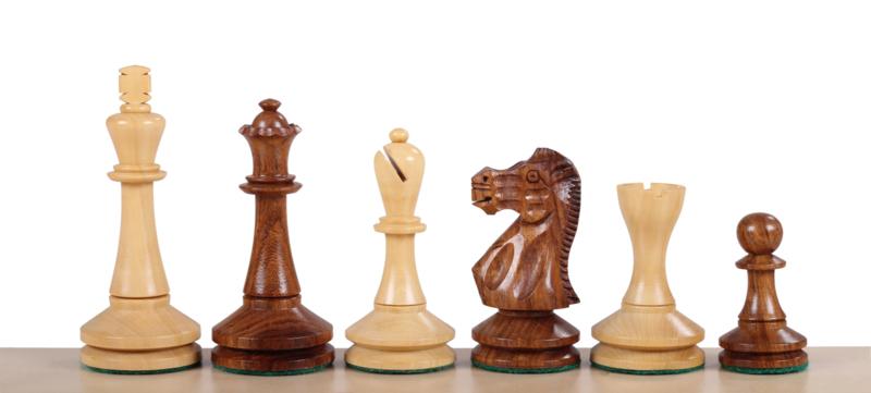 Blackmore Acacia Koningshoogte 95 mm met Londen 58 schaakbord