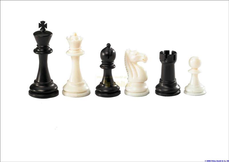 Kunststof schaakstukken Nerva 95