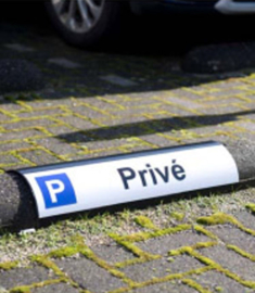Parkeerbord Round