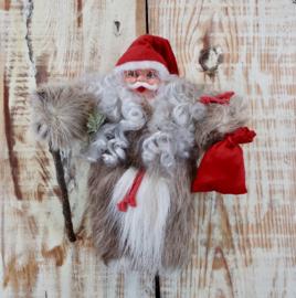 Prachtige kerstman met rendieren bont van Erkki Juopperi