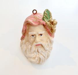 Handgemaakt kerstmannen hoofd