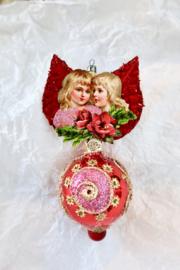 Victoriaanse kerst ornamenten