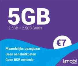 Sim only 5 GB