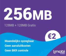 Sim only 256 MB