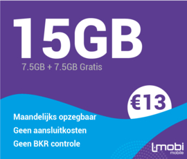 Sim only 15 GB