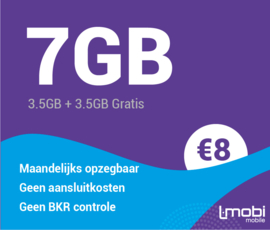 Sim only 7 GB