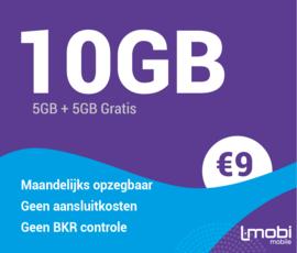 Sim only 10 GB