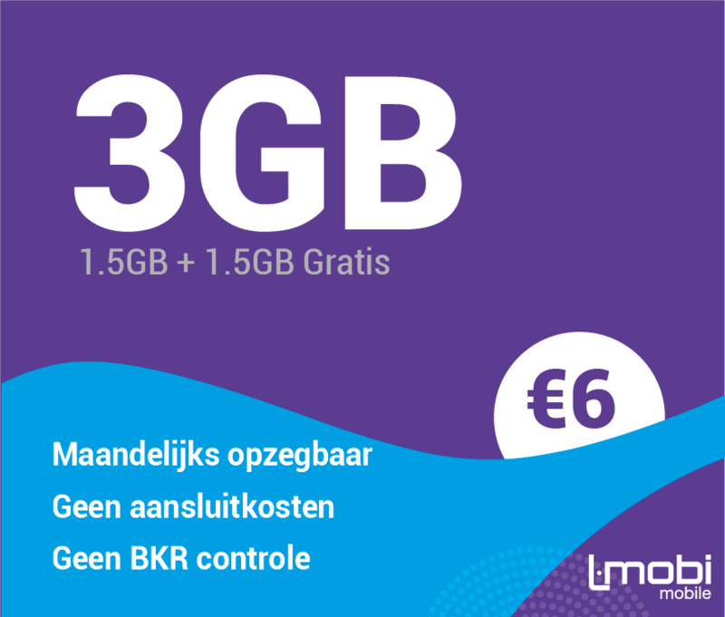 Sim only 3 GB