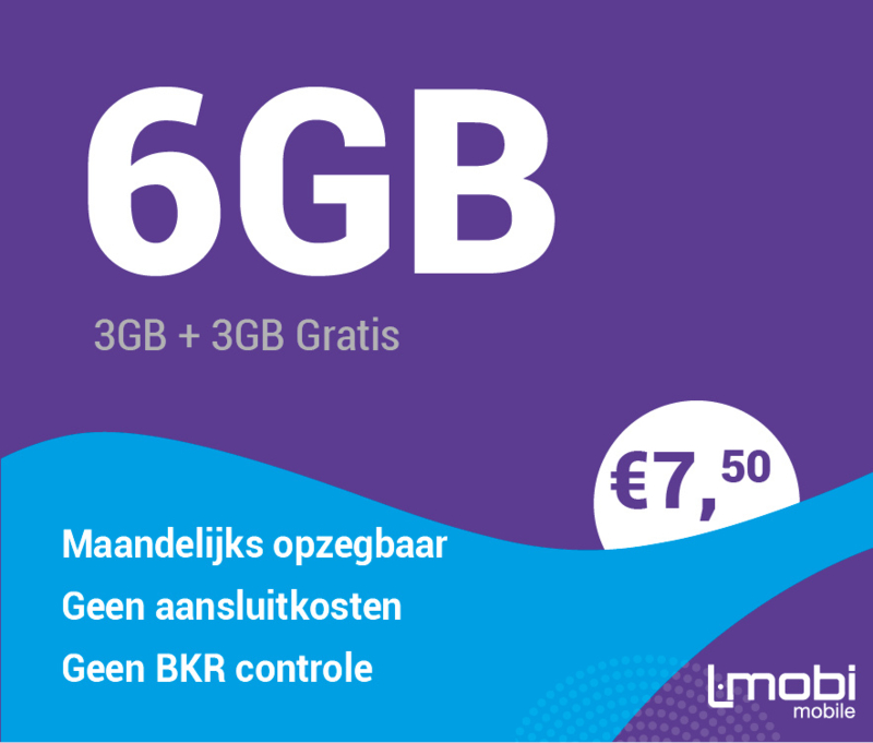 Sim only 6 GB