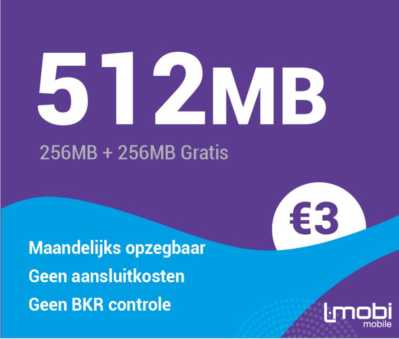 Sim only 512 MB