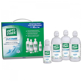 OPTI-FREE PureMoist Multipack