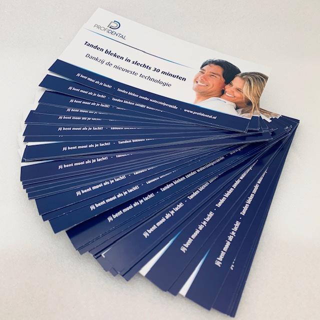 Toonbank flyer gratis