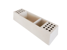 Desk organizer pens white