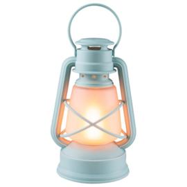 Stormlampje LED ø14x24,5cm Blauw