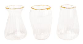 Vase Beau CL/GD ass.3