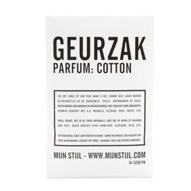 geurzakje geur cotton