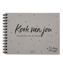 Valentijn invulboekje Kookvanjou