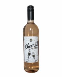 Rose wijn cheers