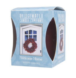 Votive candle welcome home