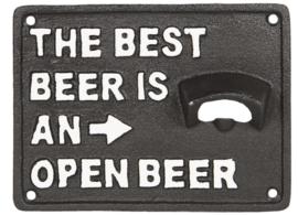 Flessenopener best beer
