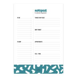 Notitieblok Creatively Organized