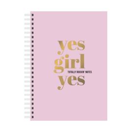 Notitieblok Yes Girl Totally Rockin Notes Yes