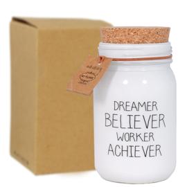 MF kaars dreamer believer