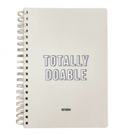 Notebook totally doable