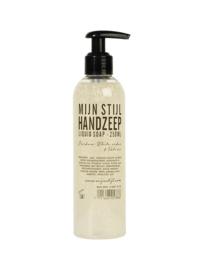 Handzeep White Cedar & Vetiver 250 ml transparante fles