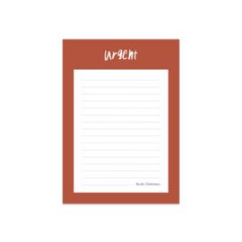 Noteblock urgent