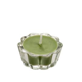 Flower Votive Candle LGN (12)