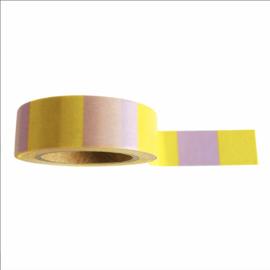 Washi tape yellow lilac