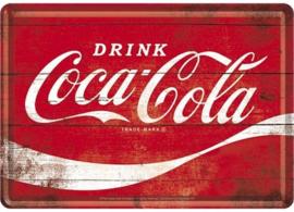 Metal Card Coca/Cola Wave