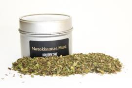 Kruiden thee Marokkaanse munt