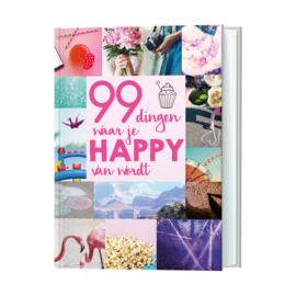99 dingen waar je happy