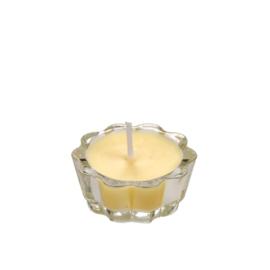 Flower Votive Candle LYEL (12)