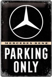 Parking only mercedes L