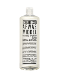 ecologisch afwasmiddel  geur aloe vera