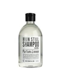 Shampoo Linnen 500 ml wit etiket